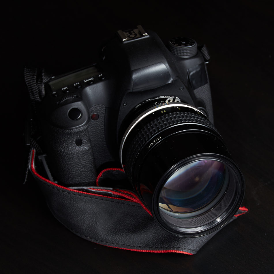 canon eos 6d nikon ais 105mm f/1.8